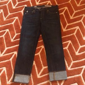 AG skinny straight jeans. Size 27R like new